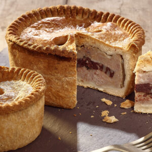 Large Pork & Black Pudding Pie