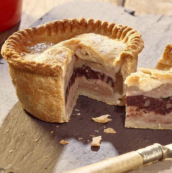 Pork & Black Pudding Pie