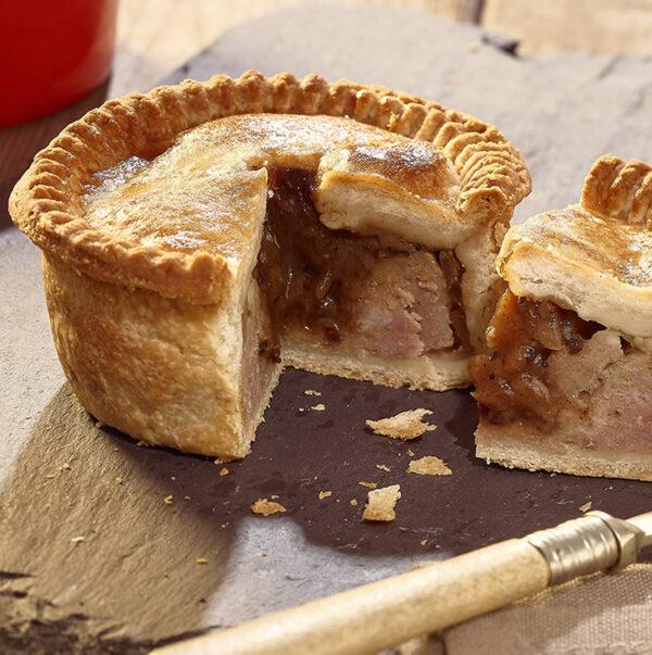 Pork & Caramelised Onion Chutney Pie