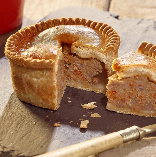 Pork & Chorizo Pie