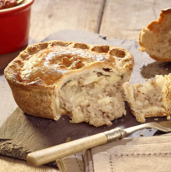 Meat & Potato Pie